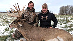 Wisconsin Man Bags 19-Point Buck