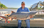 Oklahoma Angler Catches New Rod & Reel State-Record Paddlefish